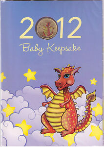 2012-Year-of-the-Dragon-Baby-Keepsake-with-one-dollar-coin-issued-Perth-Mint