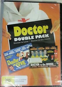 Doctor Double Pack - Doctor in Love / Doctor in the House  (2 disc set) NEW