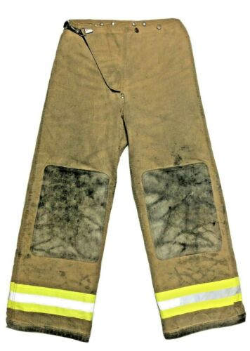 30x29 Globe Brown Firefighter Turnout Pants  P1298