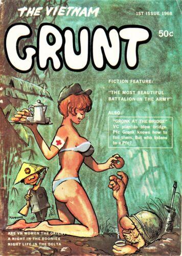 GRUNT MAGAZINE, VIETNAM FIRST ISSUE 1968