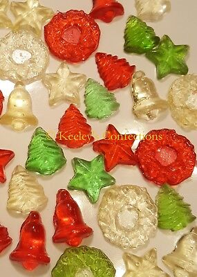 Holiday Mix Bite Sized Clear Toy Candy, Christmas Candy - 36 -