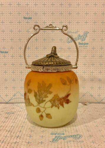 Mt. Washington Crown Pairpoint Milano Biscuit Jar