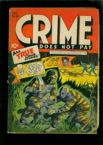 Crime Does Not Pay 29 VG 4.0