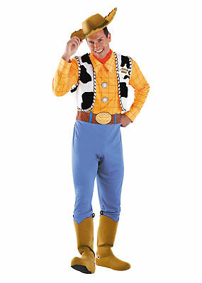 Woody Adult Deluxe Costume Cowboy Disney Toy Story Sheriff Halloween