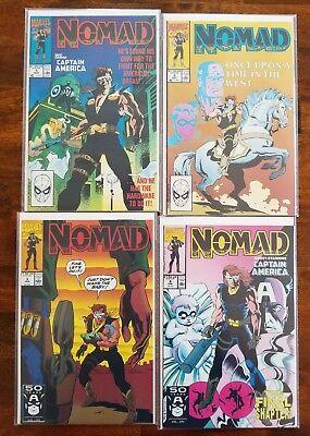 Nomad (1990) Limited Series 1-4 Full Run!  VF