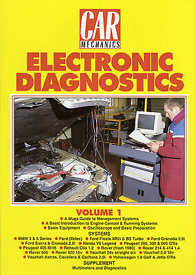 Car Mechanics Electronic Diagnostics Reprint Books Volume 1
