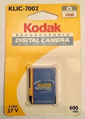 KODAK KLIC-7002 KLIC7002 original genuine rechargeable Li-Ion Battery NEW SEALED