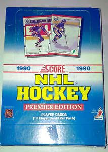 4 Boxes of Score Hockey Cards 1990