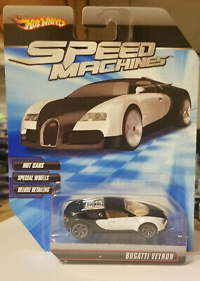 Hot Wheels Speed Machines Bugatti Veyron