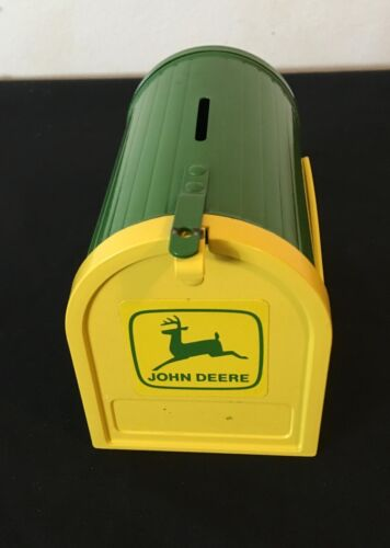 John Deere Mini Bank Mailbox