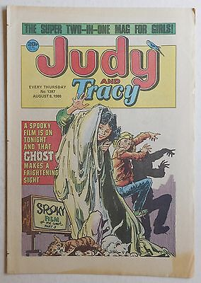 JUDY & TRACY Comic #1387 - 9th August 1986