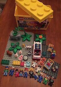 BULK LEGO DUPLO - Genuine Box/base plates/animals/people/plants Corinda Brisbane South West Preview