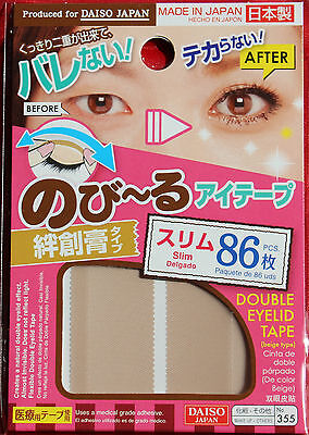 Daiso Japan Nobiru eyes for tape Plaster type Inconspicuous type