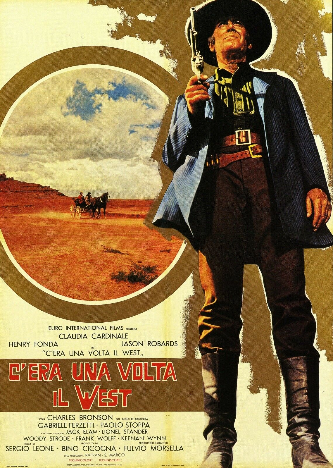 once upon a time in the west movie poster spaghetti
