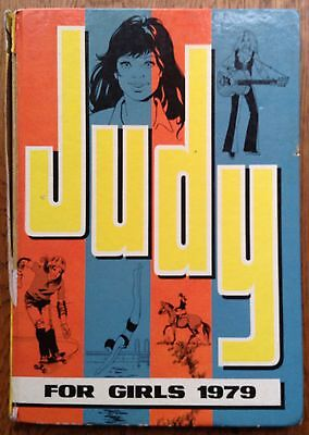 JUDY FOR GIRLS 1979 - Vintage / Retro Girls' Comic Annual - Unclipped *