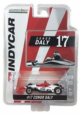 1:64 2018 Greenlight Conor Daly #17 Thom Burns Racing IndyCar Diecast