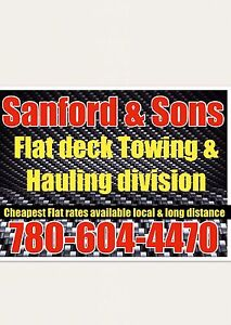 Sanford & Sons towing and hauling
