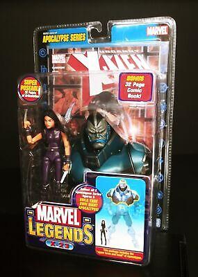 Marvel Legends X-23 Purple Action Figure Apocalypse Series ToyBiz - NIB Cleaned
