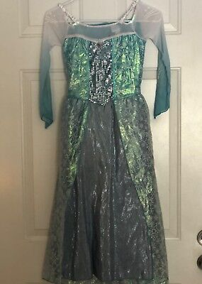 Elsa from frozen girl costume size 7-8 (Dress and - Elsa From Frozen Costume