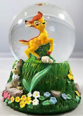 "Disney ""Bambi, Thumper, & Flower"" Mini Snow Globe *Great Condition*"