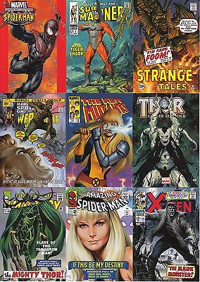 2016 Marvel Masterpieces - WHAT IF #1-81 LOW SERIAL NO. 81-Card Set Tier 1 2 & 3