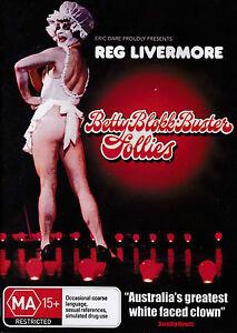 [NEW] DVD: REG LIVERMORE: BETTY BLOKK BUSTER FOLLIES