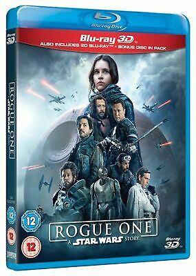 ROGUE ONE: A STAR WARS STORY 3D BLU-RAY BRAND NEW & SEALED