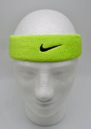 Nike Dri-Fit HeadBand Sport Tennis Basketball Atomic Green/Black Men
