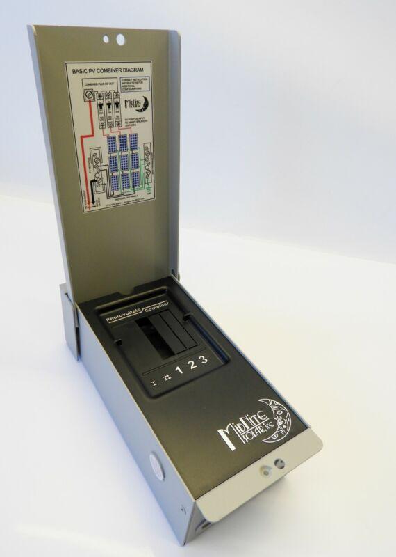 NEW Midnite Solar MNPV3 PV Combiner Breaker / Fuse Box w/out Breakers