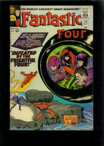 Fantastic Four 38 FN/VF 7.0