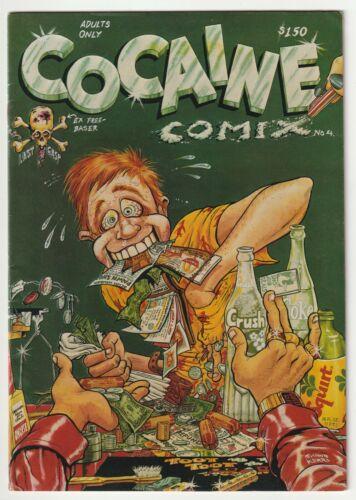Cocaine Comix #4 - 1st Print  - 1982 Last Gasp - Classic Underground C1