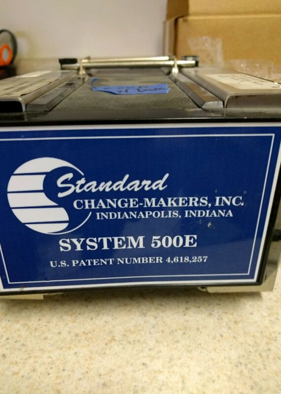 Standard Change Maker bill validator 500e NOT WORKING PARTS ONLY