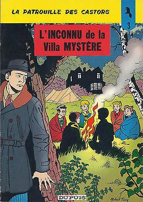 BD-Patrouille des Castors -N3 -L'Inconnu de la villa Mystère -RE-1974-TBE-Mitacq