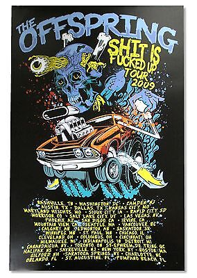 "THE OFFSPRING ""HYDRO"" POSTER NEW OFFICIAL BAND MUSIC"
