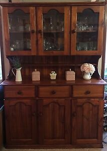 Timber Buffet and Hutch Prestons Liverpool Area Preview
