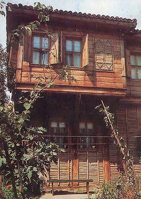 Alte Postkarte - Sozopol - Altes Haus