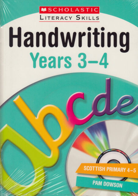 Handwriting Years 3-4 NEW BOOK by Pam Dowson (Mixed media product, 2013)