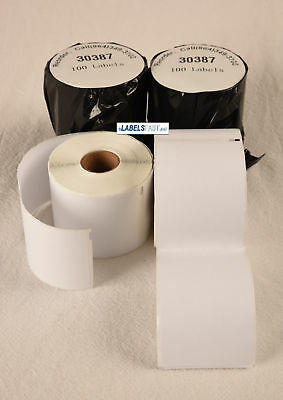 Dymo Compatible Internet 3-part Postage Address Labels 30387 Thermal Bpa Free