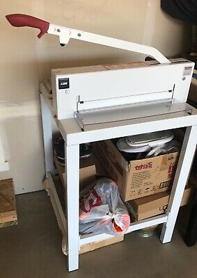 German Made Triumph 4300 Manual Paper Cutter With Stand