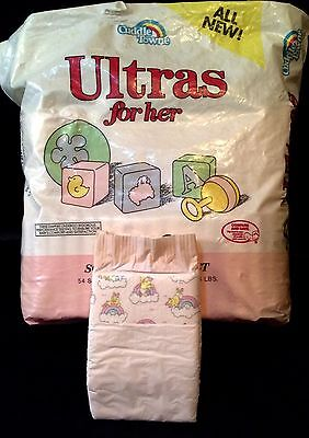 Vintage Cuddle Towne Pink Diaper For Her Sz Small Plastic Backed Reborn