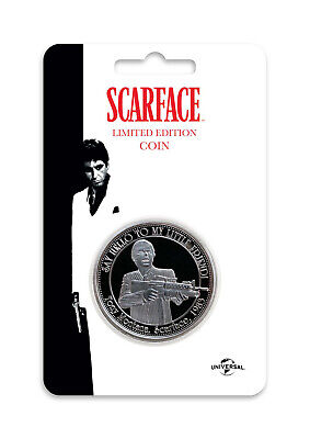 Scarface pièce de collection The World Is Yours