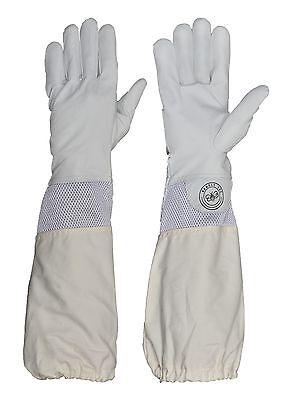 Humble Bee 112 Goat Leather Beekeeping Gloves with Ventilated Cuffs