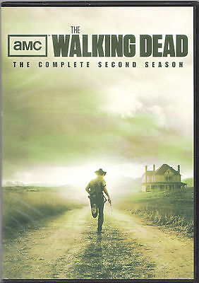 Anchor Bay Entertainment Amc The Walking Dead   The Complete Second Season Dvd
