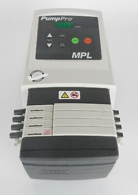 Watson Marlow Pump Pro Mpl Variable-speed Peristaltic Pump With 205ca4 Cassette