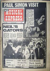 NEW MUSICAL EXP. /Mar.3.73/ Neil Young, Paul Simon, Rolling Stones, Robert Wyatt - <span itemprop=availableAtOrFrom>Mikolów, Polska</span> - NEW MUSICAL EXP. /Mar.3.73/ Neil Young, Paul Simon, Rolling Stones, Robert Wyatt - Mikolów, Polska