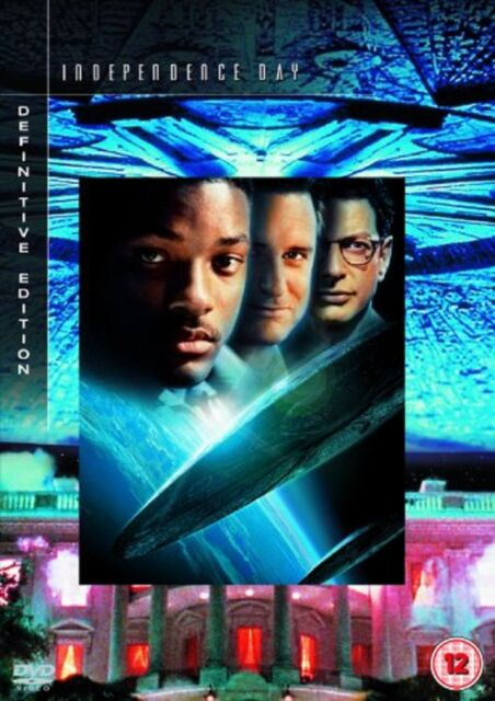 Independence Day Definitive Edition DVD Will Smith Bill Pullman UK Release New