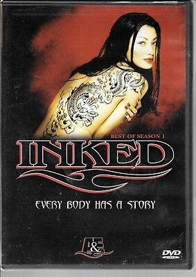 A&E, The Best of Season 1, INKED, Every Body Has a Story, 2005, USED
