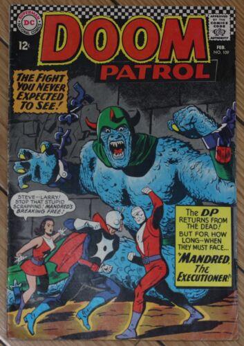 Doom Petrol #109 1967 FN 6.5