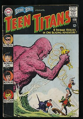 Brave And The Bold #60 GD/VG 3.0 1st Wonder Girl!