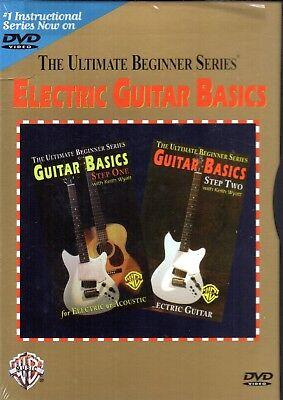Ultimate Beginner Series - Electric Guitar Basics Steps One & Two By Keith Wyatt Two Ultimate Beginner Series